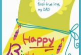 Birthday Card From Daughter to Father Happy Birthday Dad Free Birthday Greetings Cards