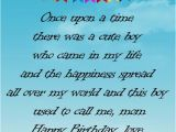 Birthday Card From Mother to son Birthday Wishes for son From Mother Occasions Messages