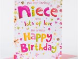 Birthday Card Images for Niece Birthday Card Darling Niece Only 99p