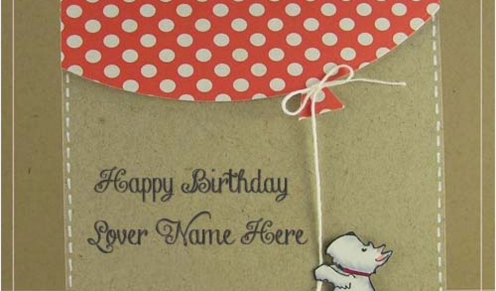 Birthday Card Images With Name Editor Cutest Wish For