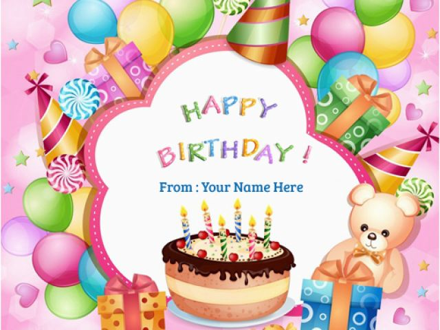 Download By SizeHandphone Tablet Desktop Original Size Back To Birthday Card Images With Name Editor
