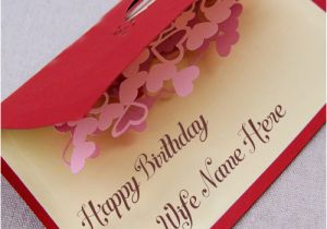 Birthday Card Images With Name Editor Write Wife Special Lovely Wish Pix Online