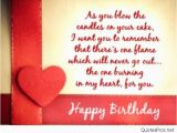 Birthday Card Love Sayings Happy Birthday Love Cards Messages and Sayings