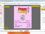 Birthday Card Making software Birthday Card Maker software Create Kids Mom Dad Birthday