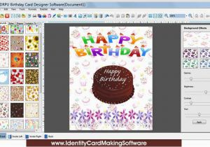 Birthday Card Making Software Screenshot X 64 Bit Download