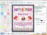 Birthday Card Making software Drpu Birthday Card Designer software Design Printable