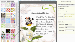 Birthday Card Making software Greeting Cards Designer software Card Maker Create