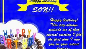 Birthday Card Messages for My son Birthday Wishes for son 365greetings Com