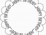 Birthday Card Print Outs 7 Best Images Of Black and White Printable Birthday Cards
