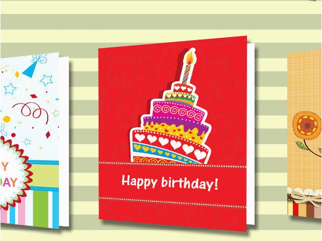 Birthday Card Reminder Folder Cards And For