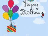 Birthday Card Salutations Happy Birthday Greeting Card Stock Vector Illustration