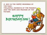 Birthday Card Sayings son 43 Birthday Wishes for son