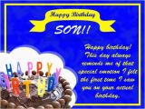 Birthday Card Sayings son Birthday Wishes for son 365greetings Com