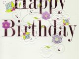 Birthday Card Service Uk Pretty Happy Birthday Greeting Card Cards