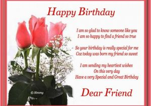 Birthday Card Sms Messages Happy Birthday Card Messages for Friends