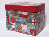 Birthday Card Storage Box Greeting Card organizer Holder You Choose the Design Very