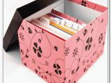 Birthday Card Storage Box Greeting Card Storage Box Home Design Ideas