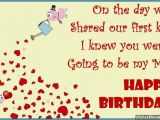 Birthday Card to Husband From Wife Birthday Wishes for Wife Quotes and Messages