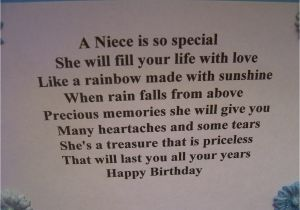 Birthday Card Verses For Niece Wishes Quotes Quotesgram