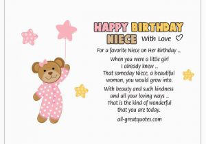 Birthday Card Verses For Niece A Favorite On Her