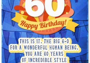 Birthday Cards 60 Years Old Funny 60th Wishes Unique Messages For A