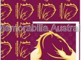 Birthday Cards Brisbane Broncos Nrl Card and Wrap Pack Brisbane Broncos Nrl