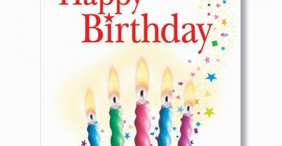 Birthday Cards Bulk order Candles and Confetti Birthday Card