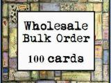 Birthday Cards Bulk order Items Similar to wholesale Bulk order 100 Note Cards