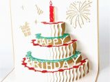 Birthday Cards Cakes Pictures Birthday Cake with Candles 3d Pop Up Birthday Greeting