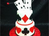 Birthday Cards Cakes Pictures Playing Card Birthday Cake Birthday Cakes Pinterest