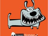 Birthday Cards Cartoon Character Funny Cartoon Character with Birthday Cards Set Vector 03