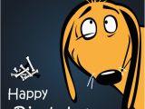 Birthday Cards Cartoon Character Funny Cartoon Character with Birthday Cards Set Vector 15