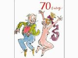 Birthday Cards Delivered Same Day 70th Unisex Birthday Card Quentin Blake Same Day