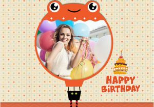 Birthday Cards Editing Online Design Photo For