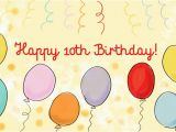 Birthday Cards For 10 Years Old Girl Sweet 10th Wishes And Quotes Boys