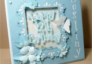 Birthday Cards For 12 Year Old Girls Yorkiemom 39 S Creative Corner Card