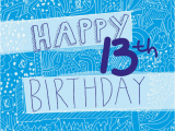 Birthday Cards for 13 Year Old Boy 80 Outstanding and Cute 13th Birthday Wishes Birthday