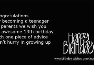 Birthday Cards For 13 Year Old Boy Funny Quotes Olds Quotesgram