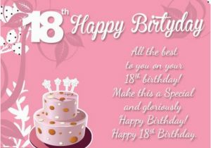 Birthday Cards For 18 Year Olds Wishes Greetings Eighteen Old Son