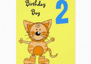 Birthday Cards For 2 Year Old Boy Zazzle