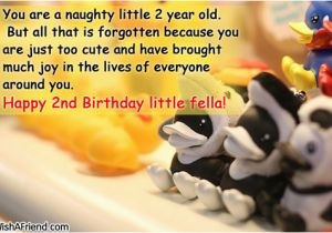 Birthday Cards For 2 Year Old Boy Happy 2nd Baby Quotes