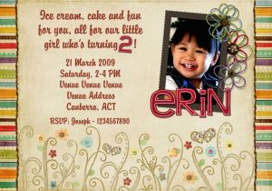 Birthday Cards For 2 Year Olds Old Invitations Templates Free