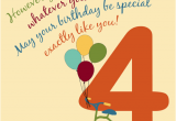 Birthday Cards for 4 Year Olds for A Special 4 Year Old Free for Kids Ecards Greeting