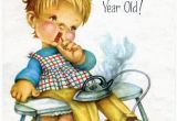 Birthday Cards for 4 Year Olds Vintage Birthday Greeting Card for Four 4 Year Old Child