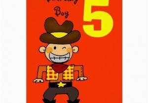 Birthday Cards For 5 Year Old Boy Card Zazzle
