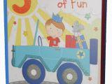 Birthday Cards for 5 Year Old Boy Car themed Birthday Card for 5 Year Old Boy
