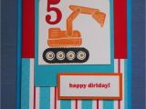 Birthday Cards for 5 Year Old Boy Flushed with Rosy Colour Handmade Card for A 5 Year Old Boy