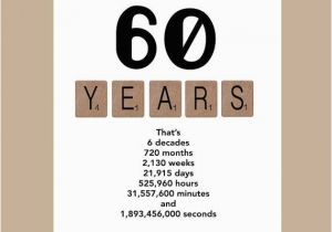 Birthday Cards for 60 Year Old Male 60th Birthday Card Milestone Birthday Card the Big 60