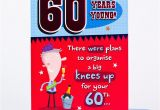 Birthday Cards for 60 Year Old Woman 60th Birthday Card 60 Years Young Only 89p