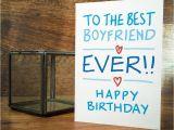 Birthday Cards for A Boyfriend Boyfriend Birthday Card by A is for Alphabet
